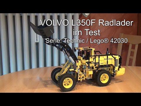 Test Lego VOLVO L350F Radlader: Lego Technic (Set 42030)
