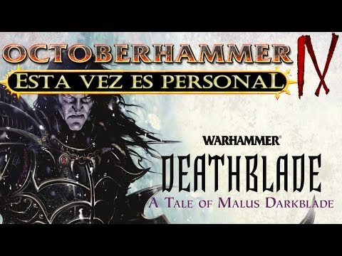 OCTOBERHAMMER IV: ESTA VEZ ES PERSONAL - Malus Darkblade: Deathblade, de C. L. Wierner