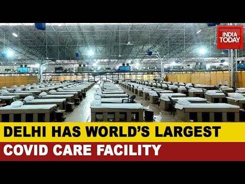 Delhi LG Anil Baijal Inaugurates World's 'Largest' Covid-19 Facility With 10,000 Beds