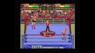 MAME Wrestling Games