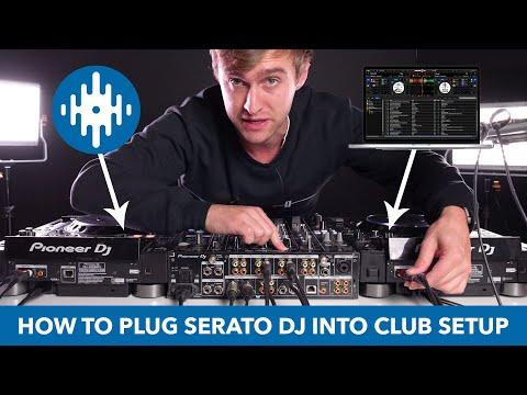 How Serato DJs plug into a club setup - HID mode tutorial with Pioneer CDJs