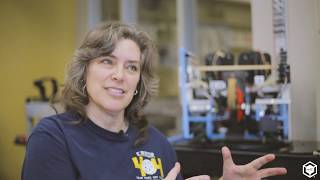 Coaching a High School Robotics Team Using 3D Printing