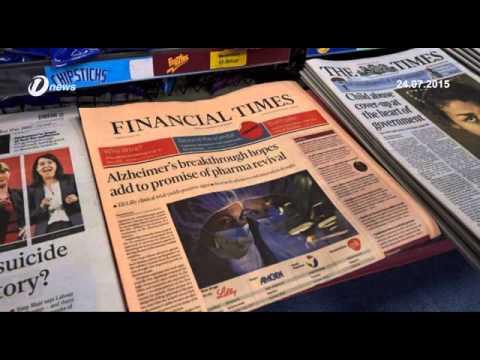 Akhbar The Financial Times Kini Milik Kumpulan Media Jepun Nikkei