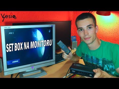 Kako povezati SET BOX na stari monitor