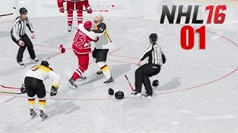 NHL 16 PS4 Online Deutsch Österreich vs Deutschland #01