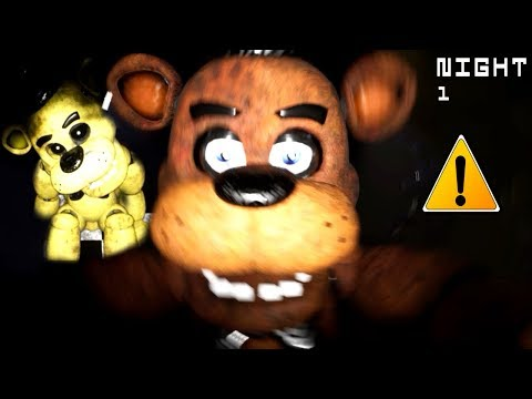 NEW NIGHT 1 DEMO!! Five Nights at Freddy's Remake (Free Roam UE4)