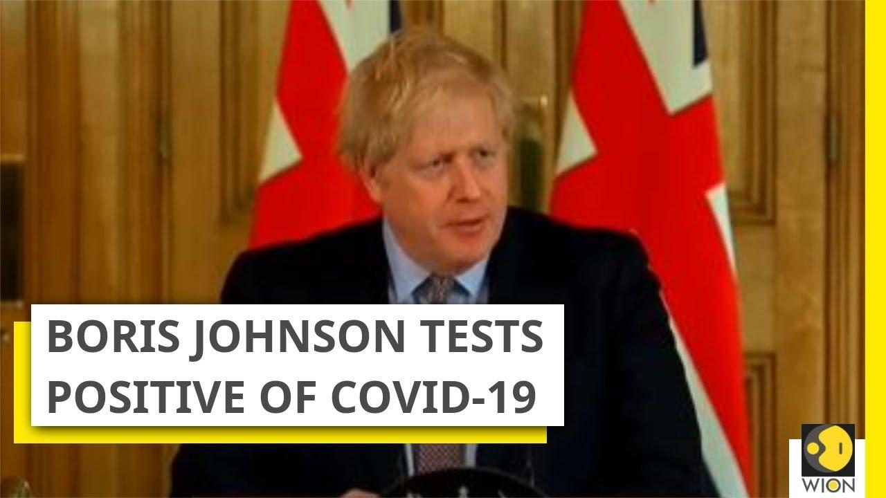 News Alert Boris Johnson Tests Positive Of Covid 19