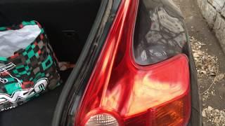замена ламп стоп-сигнала в Nissan Juke