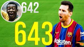 HISTORY! Lionel Messi - ALL 643 Goals for Barcelona | HD