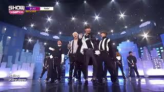 JinYoung cut ending Show Champion EP 247 B1A4   Rollin' 비원에이포   롤린