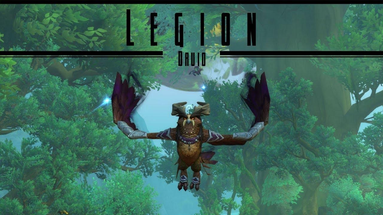 WoW: Legion - Druid Flight Form Quest - YouTube