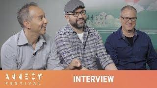 Josh COOLEY, Jonas RIVERA & Mark NIELSEN - Toy Story 4 - Annecy 2019