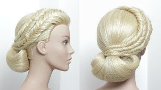 Wedding Hair Tutorial.  Prom Updos