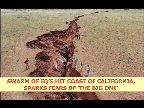 Swarm of EQ's Hit Coast of California, Sparks Fears of the 'Big One'  Latest