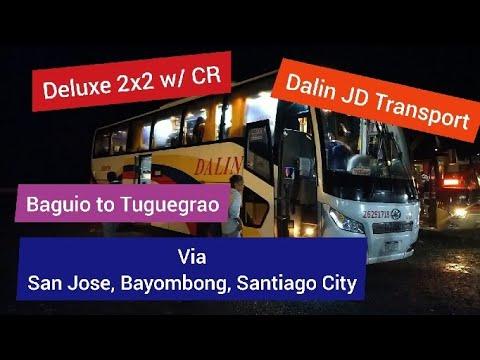 Dalin JD Transport Deluxe 2x2 Baguio to Tuguegarao