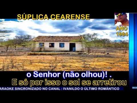 Súplica Cearense  - Luiz Gonzaga - karaoke