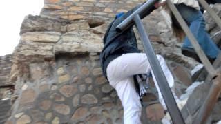 世界文化遺産 万里の長城 はぁはぁ登ってます!