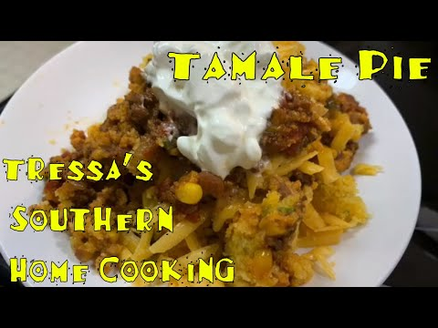 Tamale Pie    Fall Recipe Collab!