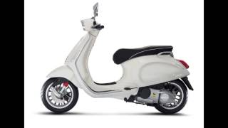 New 2017 Vespa Primavera 150 Touring 2018 - Vespa Scooter Bike