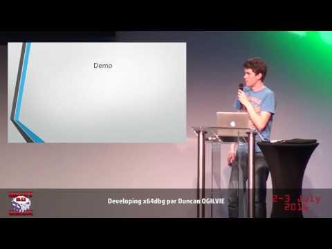 HackerZVoice - NDH2K16 - Developing x64dbg with Duncan OGILVIE