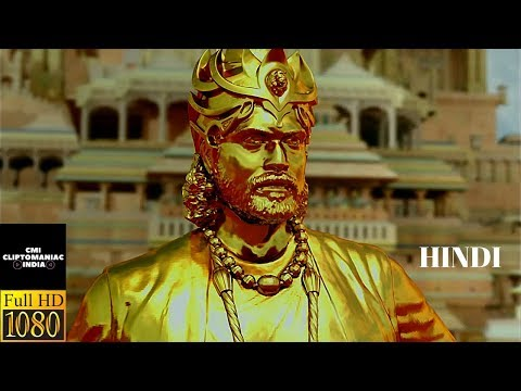 Statue lifting scene | Hindi | Baahubali: The beginning | CliptoManiac INDIA