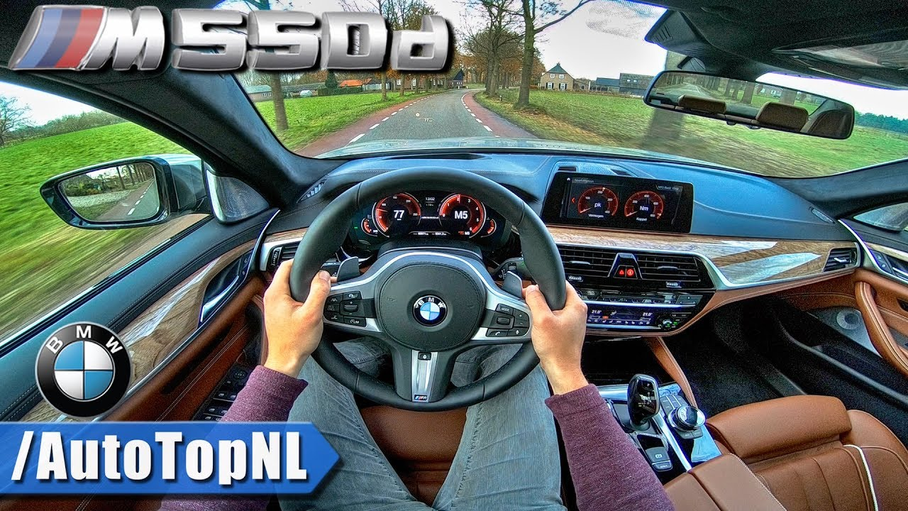 2018 Bmw M550d Xdrive G30 Quad Turbo Pov Test Drive By Autotopnl
