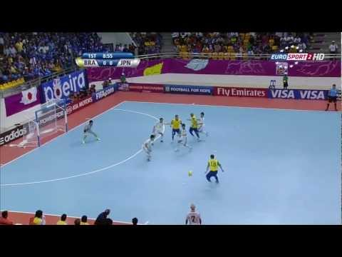 Brazil vs Japan  2012 FIFA Futsal World Cup