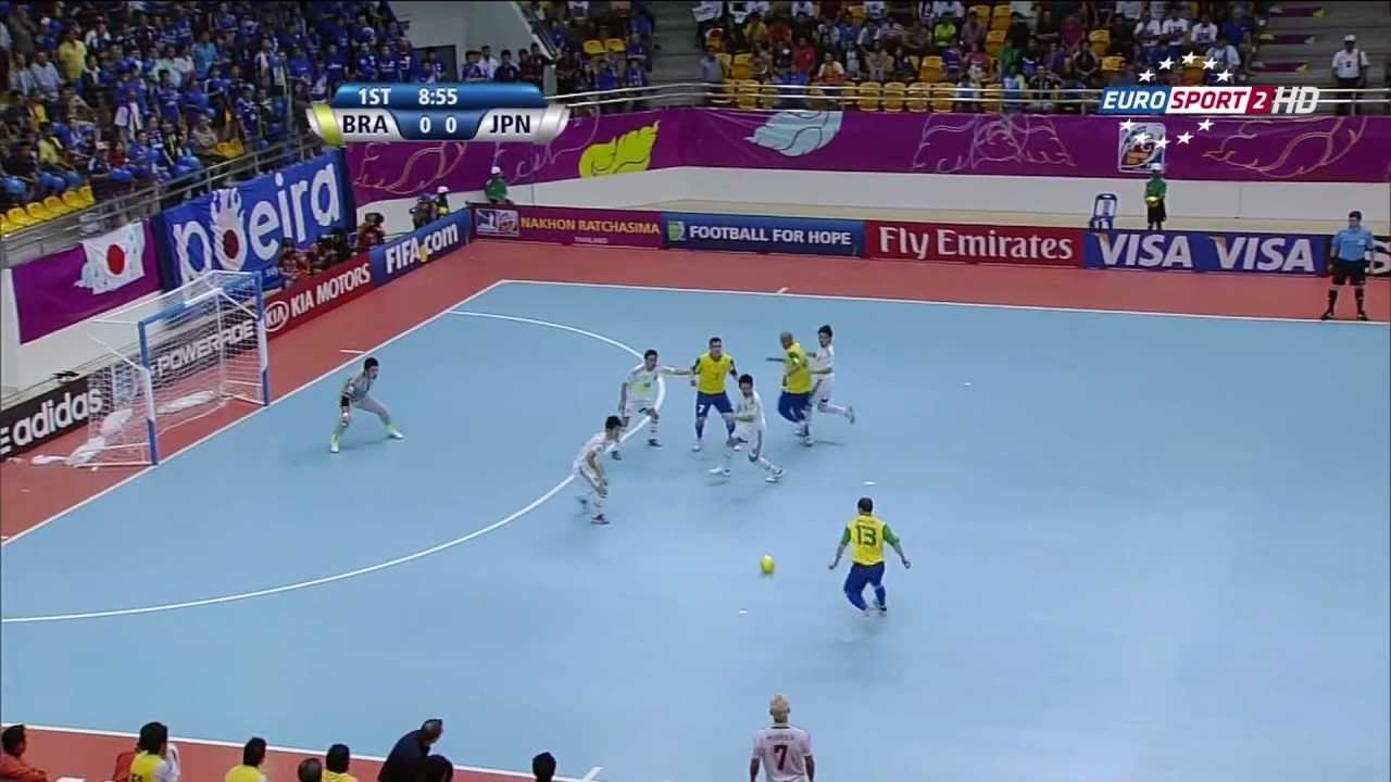 Brazil Vs Japan 2012 Fifa Futsal World Cup Youtube