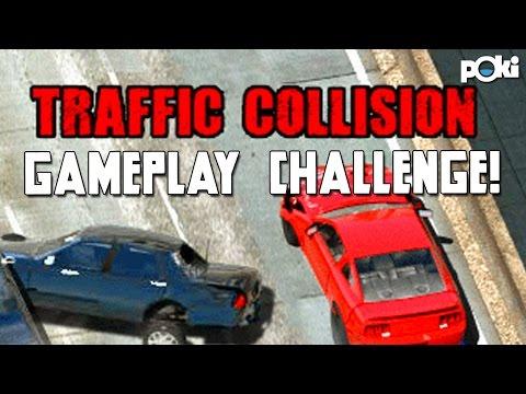 High Score! Traffic Collision Gameplay Challenge!