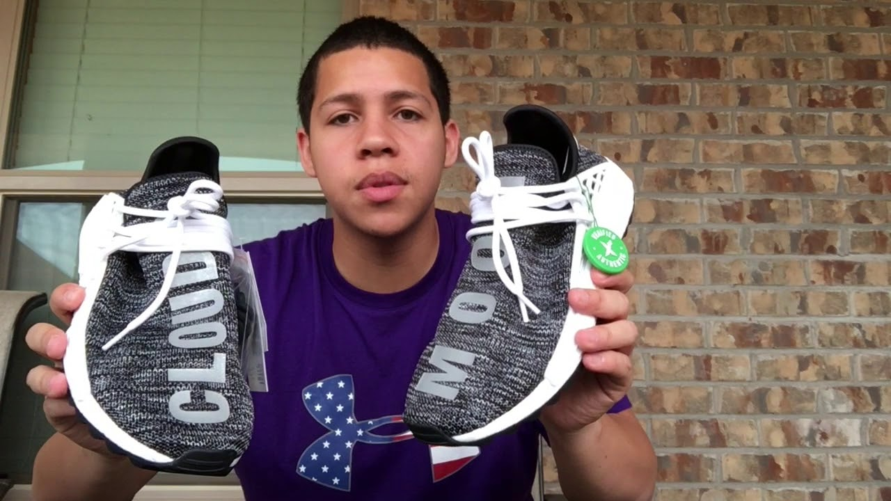 sneakers for cheap eed21 097e4 Human Race Trail NMD (Unboxing) from StockX!!