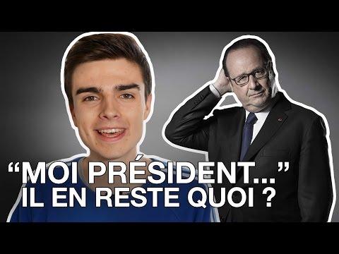 """BILAN : """"Moi président..."""" de François Hollande : il en reste quoi ?"""