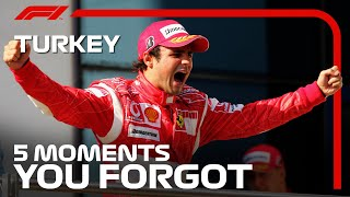 5 Moments You Forgot | Turkish Grand Prix