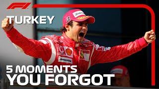 5 Moments You Forgot | Turkish Grand Prix
