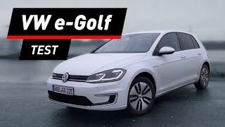 VW e-Golf: Nie hat ein Golf mehr Spaß gemacht!