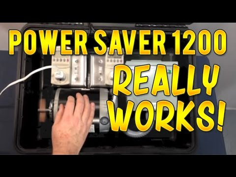 Power Saver 1200 Demo that really works to save you money!
