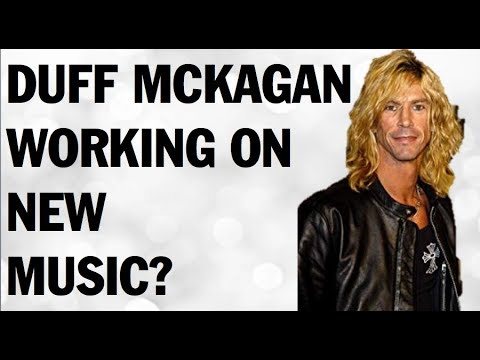 Guns N' Roses News  Duff McKagan Working on New Music!