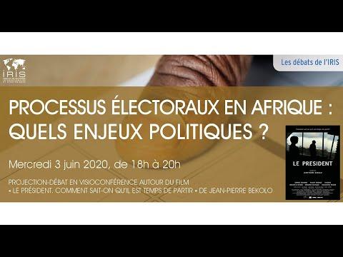 Processus Electoraux En Afrique Quels Enjeux Politiques Iris