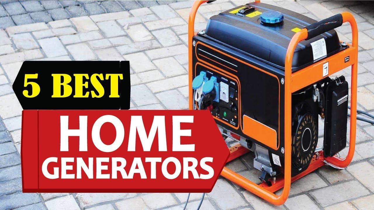 5 Best Home Generators 2018 Best Home Generator Reviews