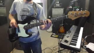 Incubus - Make A Move [bass_cover]