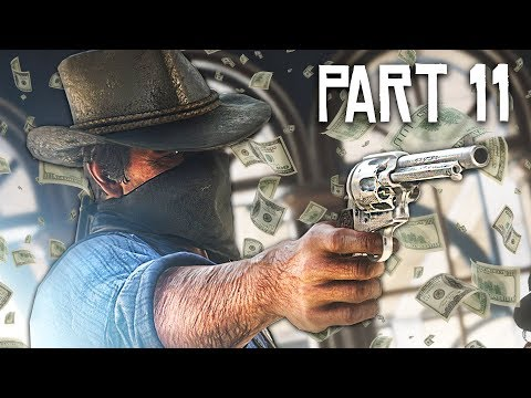 Red Dead Redemption 2 Gameplay Walkthrough, Part 11 - BANK ROBBERY!! (RDR 2 PS4 Gameplay)