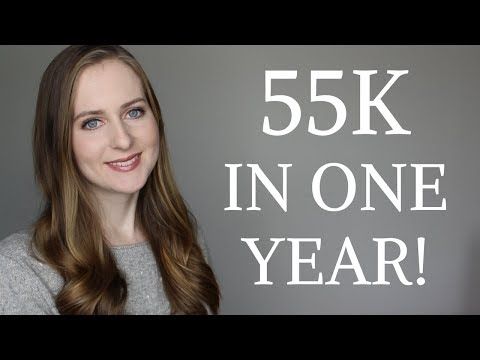 How I Got 55,000 Subscribers in My FIRST YEAR on Youtube