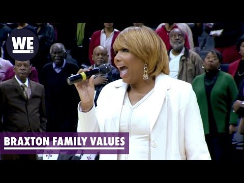 Traci Braxton Performs 'Lift Every Voice & Sing' | Braxton Family Values | WE Tv