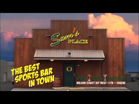 Sams Place Sports Bar in Eugene, Oregon