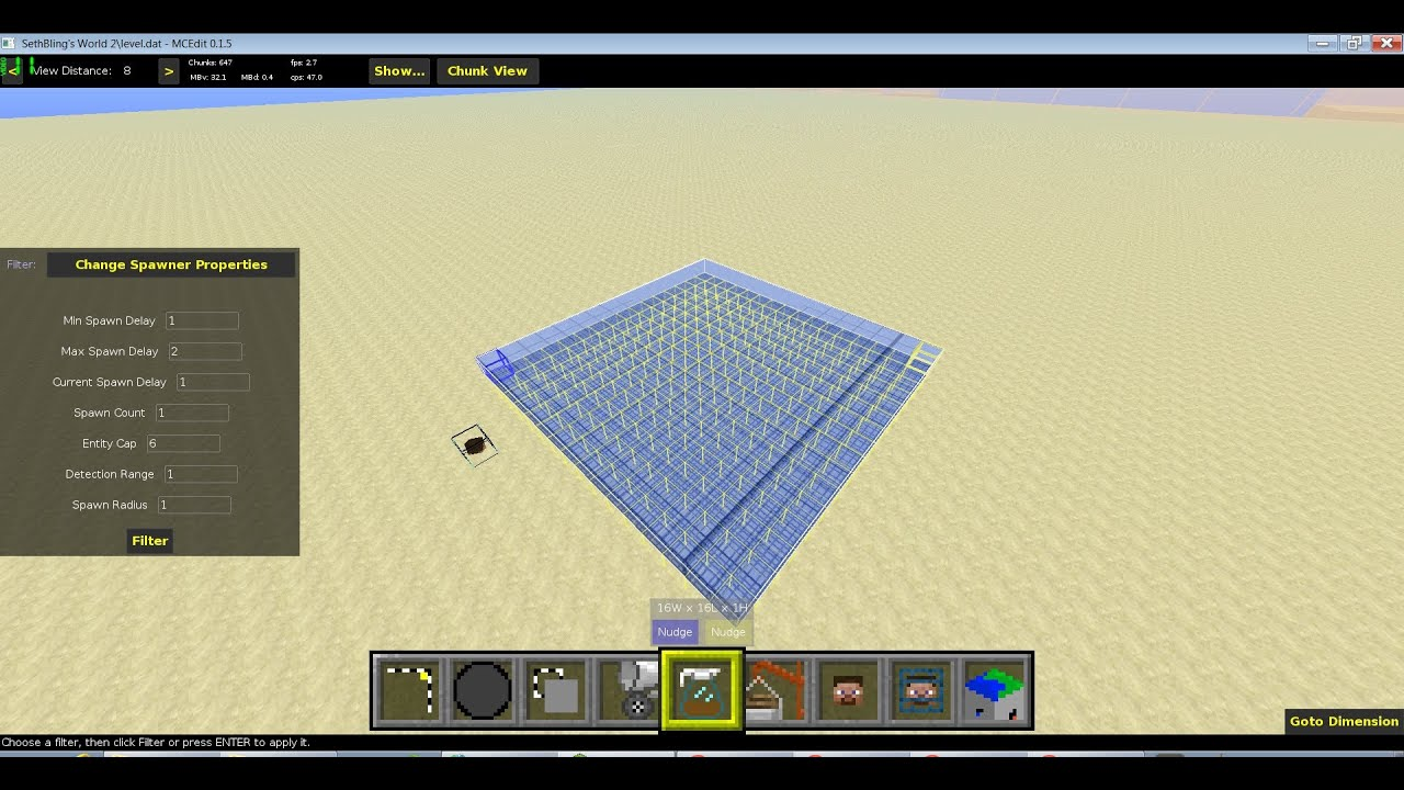 minecraft how to build a trampoline