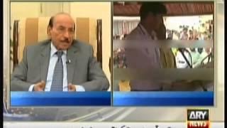 PPP CM Qaim Ali Shah meets Lyari Gangster Uzair Jan Baloch