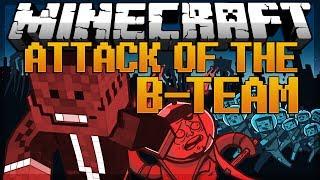 minecraft beginning machinima attack of the b team modded survival 1