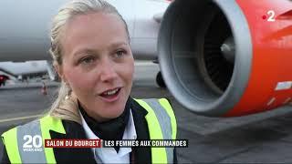 Salon du Bourget : Reportage sur les femmes pilotes et la visite Easyj…