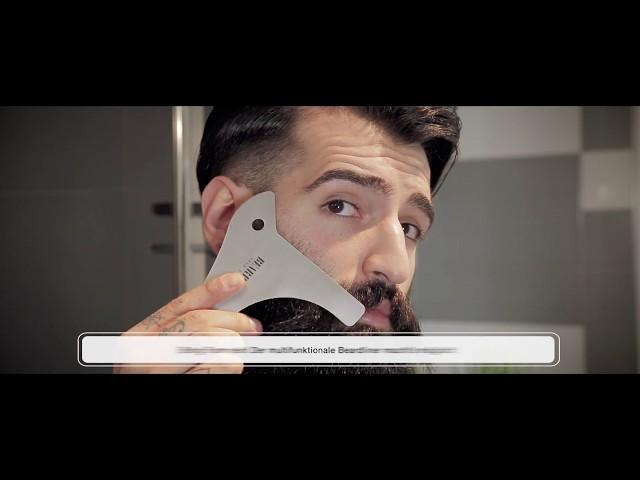 Bartschablone - Beard up your life - Shortclip