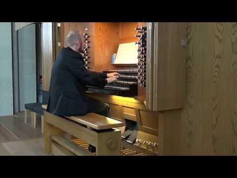 Edward Elgar: Sonata for organ op. 28. First Movement.