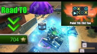 Tanki Online - Road To 700 Stars! + NEW Overdrives!